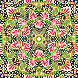 Fotoroleta Abstract Ethnic Ornate Background For Design