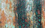 Fototapeta Фон старое железо и потрескавшаяся краска