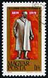 Постер, плакат: Postage stamp Hungary 1970 Vladimir Ilyich Lenin Revolutionary