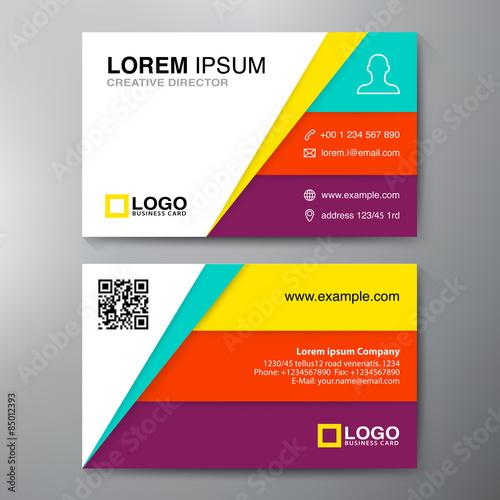 Modern Business Card Design Template Buy Photos Ap Images