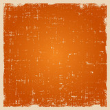 Grunge vector background texture with dust and rough edges