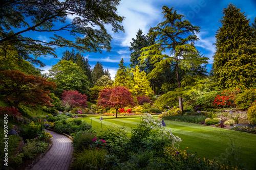 obraz PCV Butchart Gardens w Victoria, Kanada