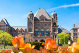 Fototapeta Queen's Park Building, seat of the Provincial Government of Ontario during Spring