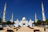 Fotoroleta Abu-Dhabi. Sheikh Zayed mosque