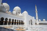 Fototapeta Abu-Dhabi. Sheikh Zayed mosque