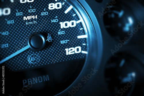 Driving Speed Control Poster