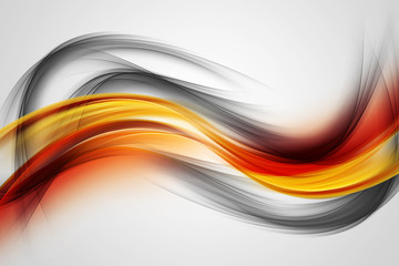 Awesome Colorful Waves Abstract Background