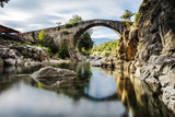 Fototapety The bridge Romano. Candeleda. Spain