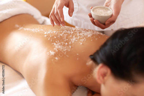Poster, Tablou Spa Woman
