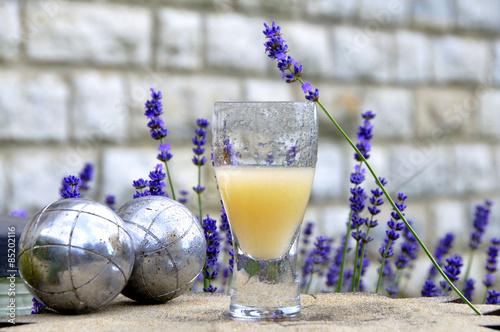 Aluminium Lavendel Pastis et lavande