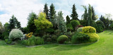 Fototapety Beautiful spring garden design