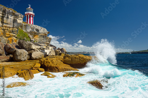 Poster Australia. Sydney South Head lighthouse