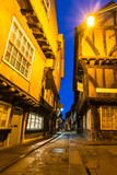 The Shambles at dusk, York