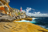 Sydney South Head lighthouse. Australia.