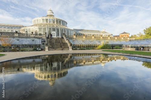 Póster Jardín Botánico en Copenhague, Dinamarca