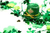 Leprechaun Hat & Clover shapes for St. Patrick
