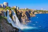 Fototapety Waterfall Duden at Antalya, Turkey