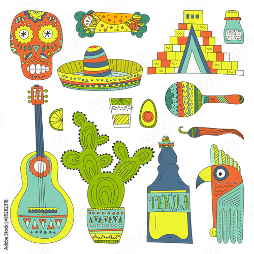 Mexican Elements © faveteart