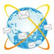 Sticker - メール インターネット 地球