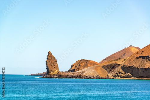 Ocean and Pinnacle Rock