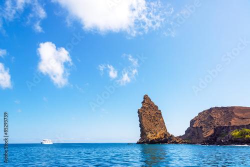 Pinnacle Rock and the Ocean