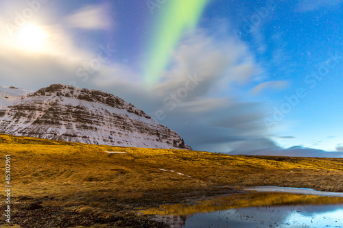 Northern Light Aurora borealis Poster