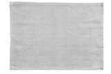 Fototapety White canvas tablecloth isolated on white background..