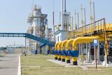 Fototapety Gas compressor station