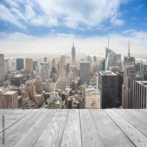 Panel Szklany New York City