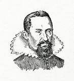 Johannes Kepler,  German mathematician, astronomer, and astrologer poster