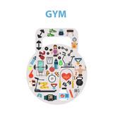 Gym Concept Flat