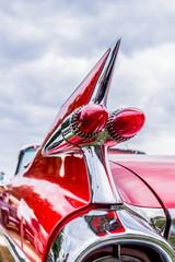 Détail de véhicule de collection, les voitures américaine © MangAllyPop@ER