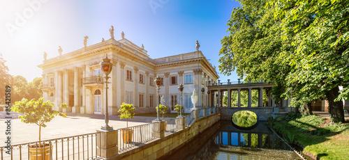 Fototapety, obrazy : Lazienki Palace, Warsaw, Poland