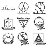 collection logo for your barbershop