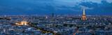 Paryż w Blue Hour