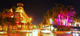 Miami Beach Florida, colorful night summer scene on Ocean Drive Art Deco District - Fine Art prints