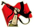 Постер, плакат: revolutionary logo vector