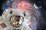 Naklejka Astronaut Spaceman Helmet Universe