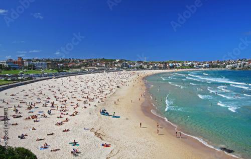 Poster Bondi Beach in Sydney, Australia