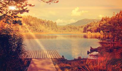 peaceful - wild lake © Patrizia Tilly