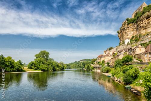 Dordogne river at Beynac-et-Cazenac