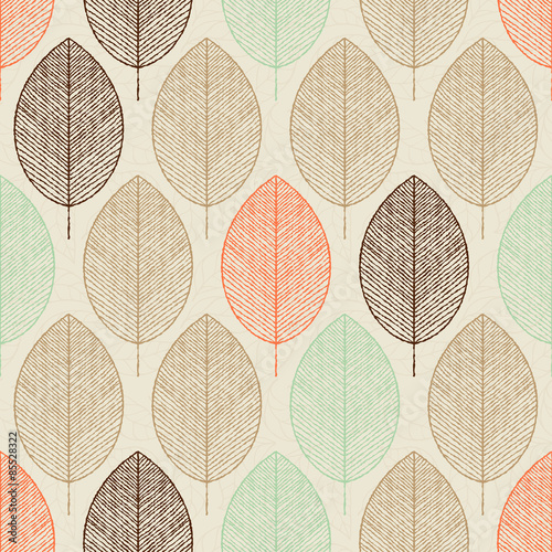 Obraz Abstract vector seamless pattern