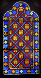 French Monarchy Symbols Stained Glass Sainte Chapelle Paris poster
