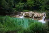 Fototapeta Piscina naturale dell'Auro nelle Marche