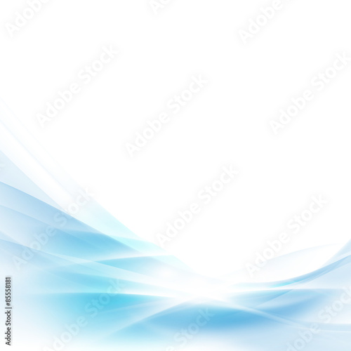 Foto op Plexiglas Abstract wave abstract spread blue wave background, vector illustration
