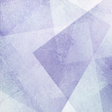 Fototapety abstract purple blue background with white faded grunge rectangle shapes layered in random pattern