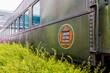 Historic Train Car in Canada