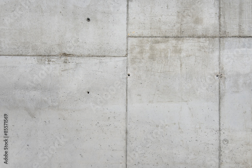 Poster Betonbehang Grey concrete wall texture, customizable, suitable for background use.