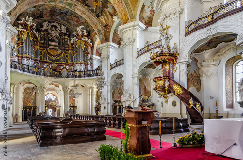Bazylika w Krzeszowie w Polsce