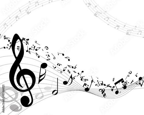 Fototapeta Musical background